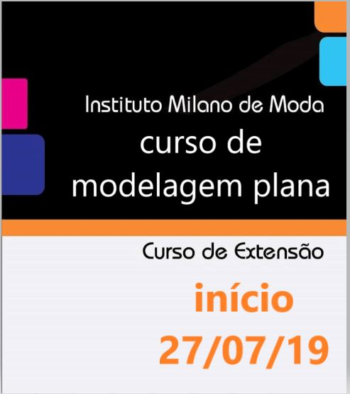Curso de Modelagem Industrial Plana