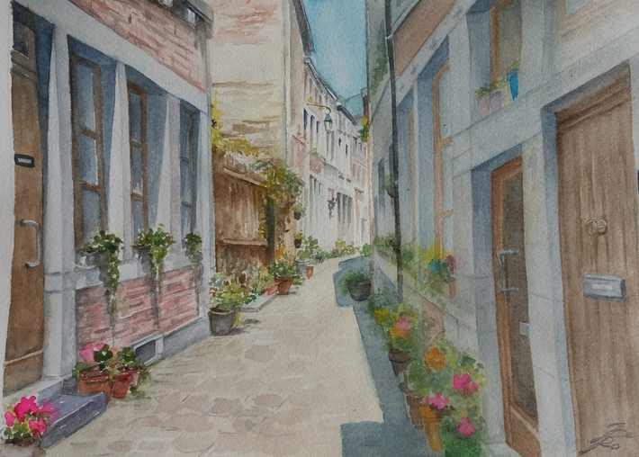 Rue Beauregard à Liège