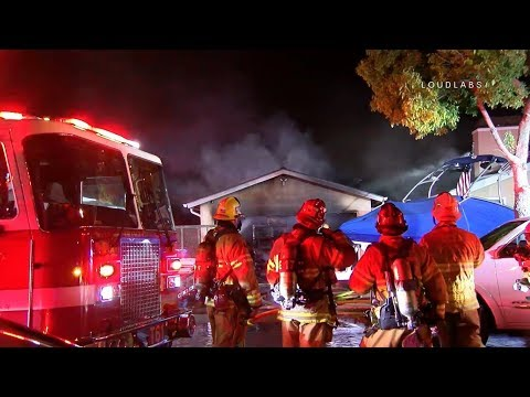 Orange County, CA Structure Fire