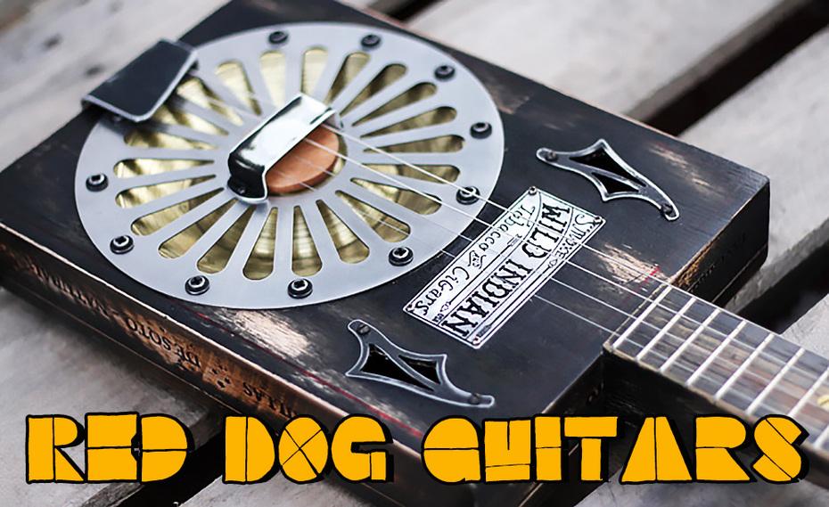 - Cigar Box Resonator Guitar -