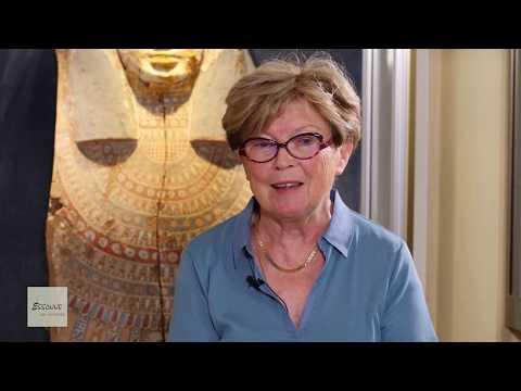 """E. Couly reçoit Michèle Juret d'après """"Etienne Drioton et l'Egypte"""" Ed. Safran"""
