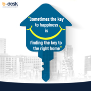 B-Desk Key to the right home