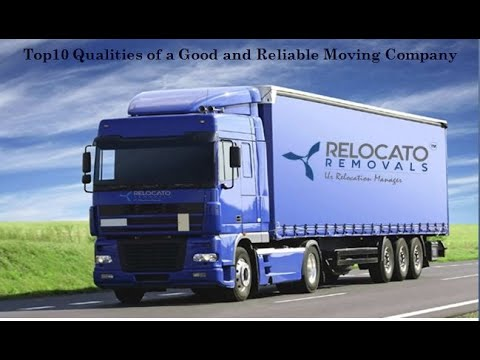 Top10 Qualities of a Good and Reliable Moving Company
