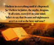 i believe in dragons john lennon