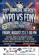 20th Annual Heroes FDNY-NYPD Baseball Classic Game