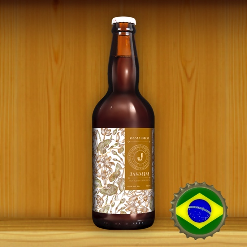 Dama Bier New Flowers Jasmin Juicy IPA com Manga