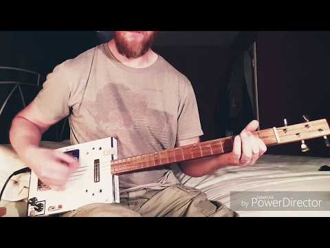 By The Way - Red Hot Chili Peppers - Cigar Box Guitar Cover