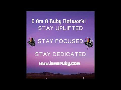 I Am A Ruby Network Morning I Am Affirmation prayer volume 1
