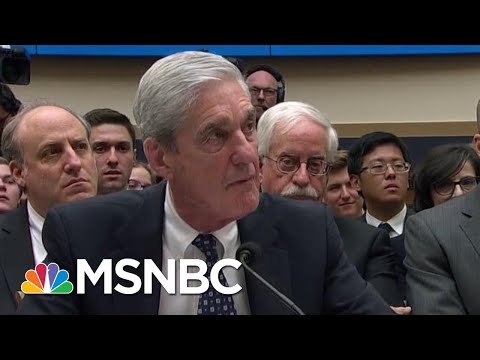 Mueller Testimony Donald Trump actions are Criminal unethical unpatriotic Rachel Maddow | MSNBC