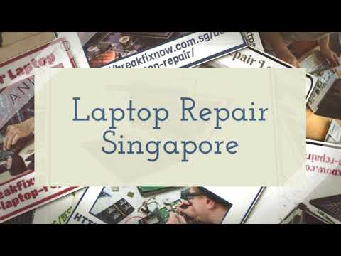 Laptop Repair Singapore