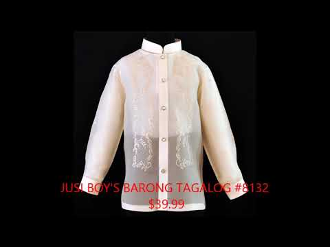Buy Best Jusi Barong Taglong for Men at BarongRus