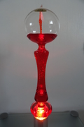 French boiler red lamp