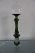French boiler green lamp