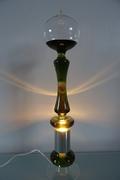 French boiler green lamp