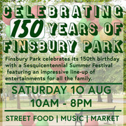 Finsbury Park - 150 Years Anniversary Summer Festival