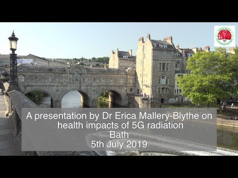 Dr Erica Mallery-Blythe presentation - Impacts of exposure to electromagnetic radiation & 5G
