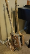 Cigar Box Guitar Stand