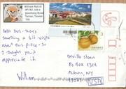 Mail art by William Mellott (Tainan, Taiwan)