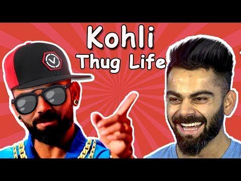 Virat Kohli Personal Life Meme   Virat kohli Thug life