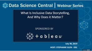 DSC Webinar Series: What Is Inclusive Data Storytelling, And Why Does it Matter?