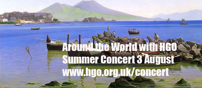 Around the World with HGO on August 3rd!