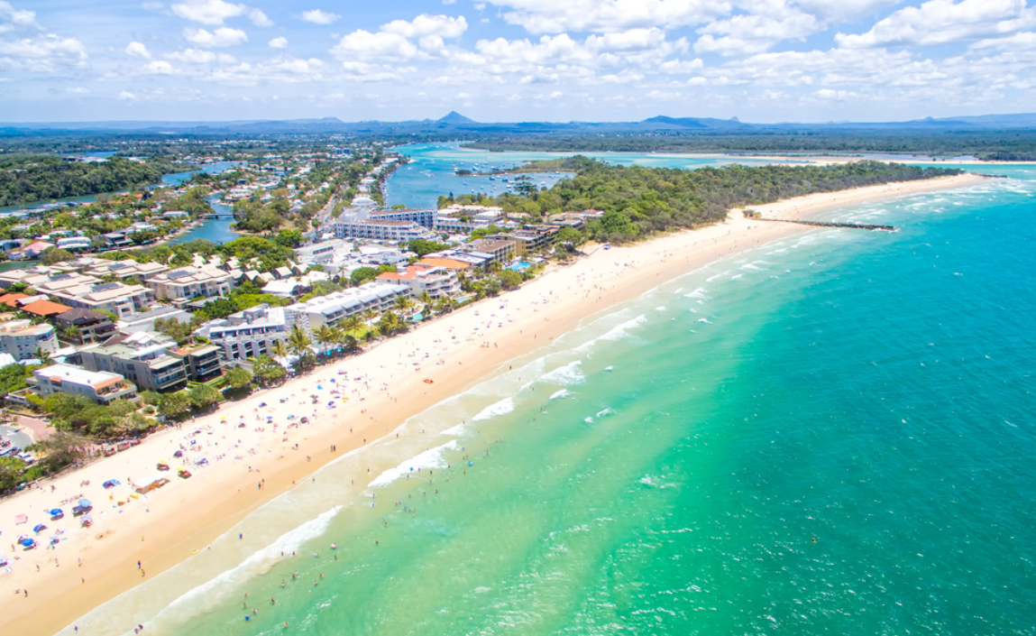 Noosa en de great beach drive