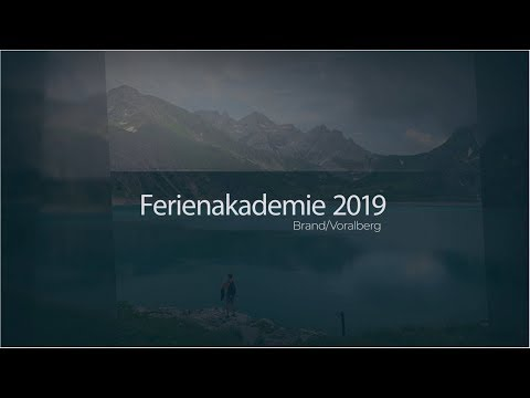 Kausale Ferienakademie 2019