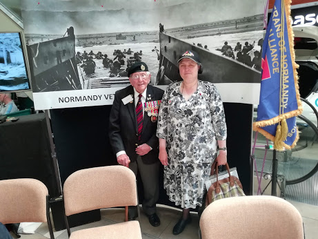 Honoured to thank a Veteran