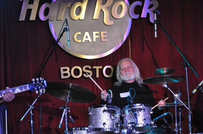 Kevin Driscoll is NOT Asleep At Boston's Hard Rock Cafe