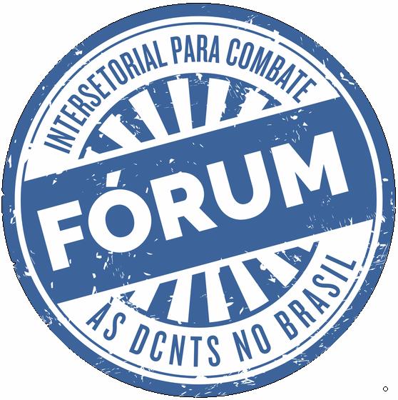Fórum Intersetorial para Combate às DCNTs no Brasil Logo