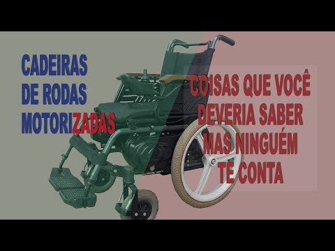 Cadeira de rodas Motorizadas Duvidas frequentes
