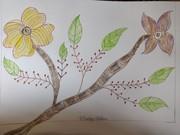 two mulitiple flower