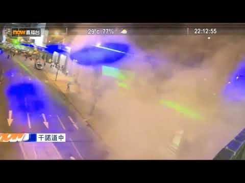Hong Kong protesters are using lasers to avoid facial recognition cameras 2019