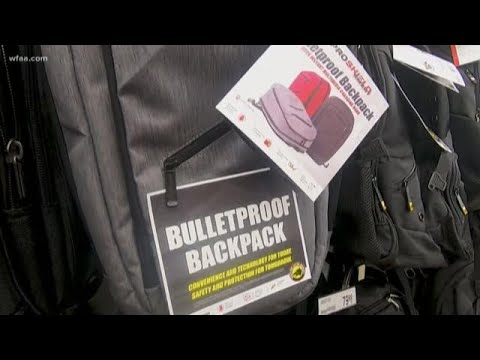 Bulletproof backpacks: Would you purchase one for your child?