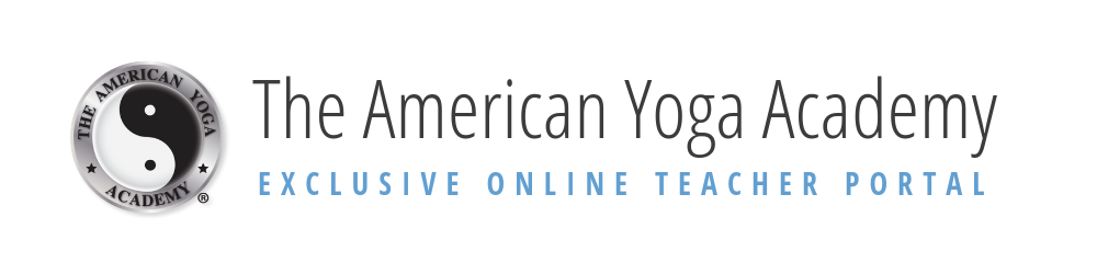 The American Yoga Academy Exclusive Online Portal Logo