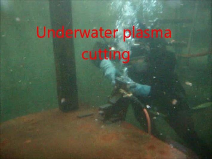 underwater plasma cutting