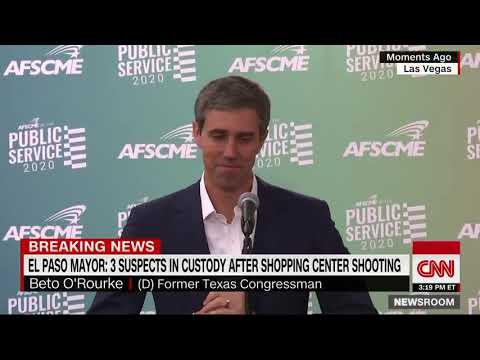 Creepy footage of O'Rourke laughing about shooting.