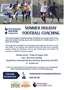 Tottenham Hotspur Foundation Summer Football