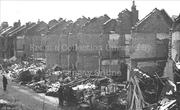 V2 Bomb Damage, Sydney Road, January 1945