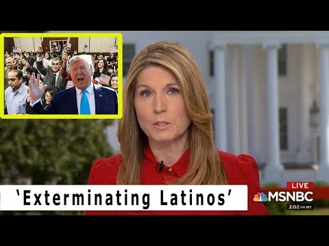 Trump CALLING for Exterminating Latinos MSNBC's Nicolle Wallace REVEAL!