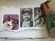 Mail art by Lisa Iversen (Indiana, USA)