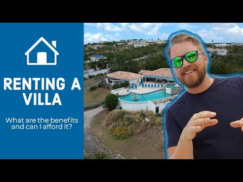 Renting a Villa vs Hotel - Is it affordable?