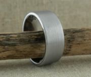 Thorsten Mercury Pipe Cut Tungsten Ring