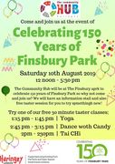 150 Anniversary of Finsbury park Event