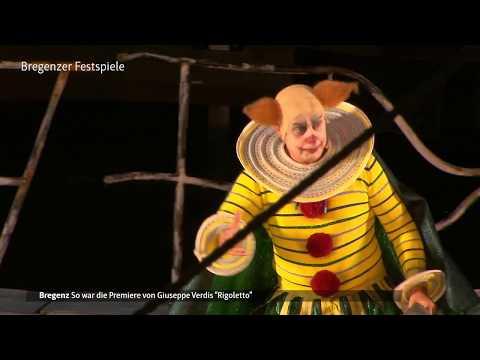 Rigoletto Premiere in Bregenz