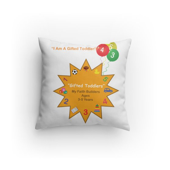 Gifted Toddler Cuddly Pillow