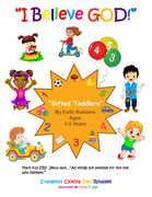 """Gifted Toddlers """"My Faith Builders"""" Collection Ages 3-5 Years"""