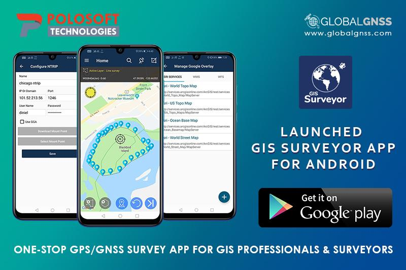 GIS Surveyor App for Surveyors and GIS Professionals