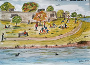 Picnics at the fort