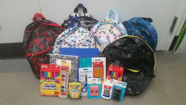 Backpack For Success Campaign A GO